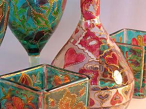 МК Роспись по стеклу | Ярмарка Мастеров - ручная работа, handmade