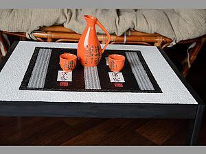 Волшебное преображение: превращаем чехословацкий столик в японский. Ярмарка Мастеров - ручная работа, handmade.