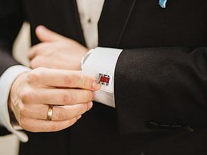 Мужчины предпочитают... запонки! | Ярмарка Мастеров - ручная работа, handmade