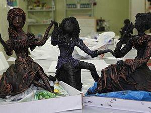 Скульптурная техника с применением отвердителя PAVERPOL | Ярмарка Мастеров - ручная работа, handmade