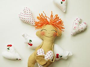 "Мастер-класс по пошиву ангелочка ""Манюня"" :). Ярмарка Мастеров - ручная работа, handmade."