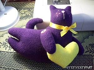 Летящий котик (или кот- летун) | Ярмарка Мастеров - ручная работа, handmade