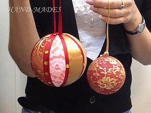 2 уникальных новогодних игрушки! Техники Пэчворк и Мерле - за одно занятие! | Ярмарка Мастеров - ручная работа, handmade