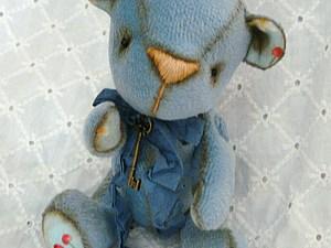 Шьем маленького мишку. Часть 2   Ярмарка Мастеров - ручная работа, handmade