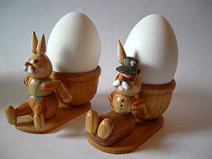 Пасхальные подставки под яйца. И не только пасхальные. | Ярмарка Мастеров - ручная работа, handmade