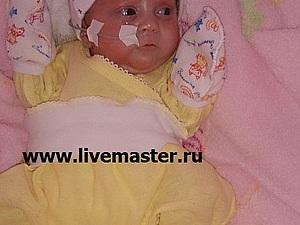 Первый благотворительный аукцион для Лизы Каданцевой, 3 месяца. Гидроцефалия! Часть 1.   Ярмарка Мастеров - ручная работа, handmade