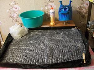 Органайзер для мокрого валяния. Ярмарка Мастеров - ручная работа, handmade.