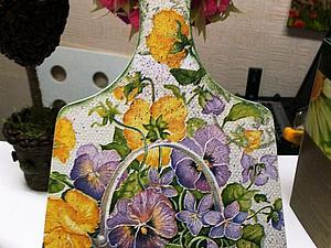 «Декупаж для Начинающих, урок №1: Работа с Салфетками скидка! | Ярмарка Мастеров - ручная работа, handmade