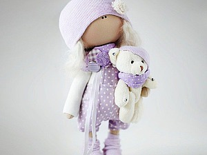 Кукла снежка мастер класс своими руками 984