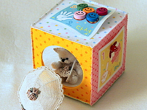 Из фетра: Игровой кубик для девочки. Ярмарка Мастеров - ручная работа, handmade.