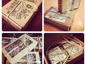Новые виды упаковки из природных материалов | Ярмарка Мастеров - ручная работа, handmade