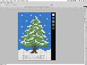 Делаем схему для вышивки из любой картинки, используя Photoshop. Ярмарка Мастеров - ручная работа, handmade.