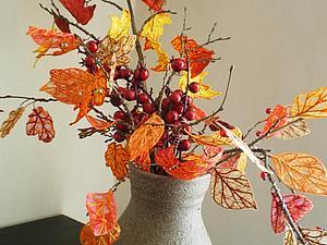 Создаем осенние листья. Ярмарка Мастеров - ручная работа, handmade.