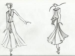 Эскизы и разработки для кружевных платьев. | Ярмарка Мастеров - ручная работа, handmade