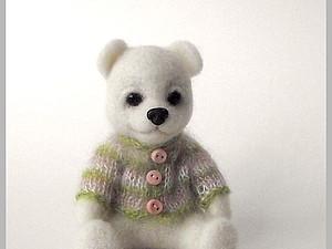 МК по валянию медвежонка из войлока | Ярмарка Мастеров - ручная работа, handmade