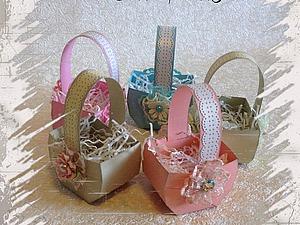 Корзинки для пасхальных яиц. Ярмарка Мастеров - ручная работа, handmade.