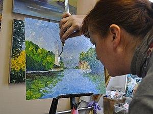 Курс живописи маслом | Ярмарка Мастеров - ручная работа, handmade