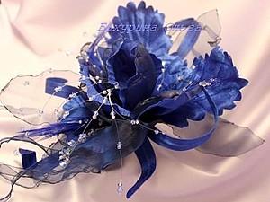 Цветы из ткани .Мастер-класс | Ярмарка Мастеров - ручная работа, handmade