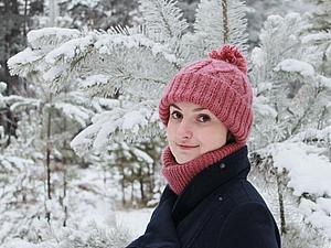 Новогодние скидки на комплекты - шапка+шарф! | Ярмарка Мастеров - ручная работа, handmade