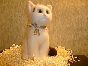 Котик Веня со скидкой 20% | Ярмарка Мастеров - ручная работа, handmade