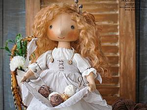 Мастер-Класс по созданию текстильной куклы | Ярмарка Мастеров - ручная работа, handmade