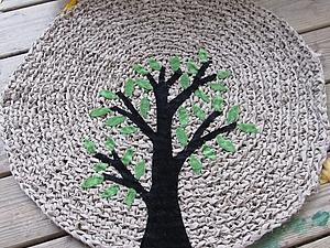 Уютный и оригинальный интерьер с помощью вязаных ковриков. Часть 2 | Ярмарка Мастеров - ручная работа, handmade