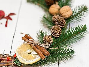 Делаем рождественский венок. Ярмарка Мастеров - ручная работа, handmade.