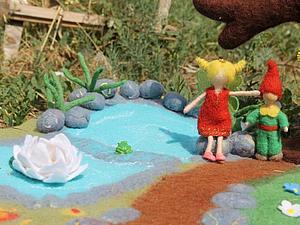 Волшебная полянка для моих детей. Часть 1. | Ярмарка Мастеров - ручная работа, handmade