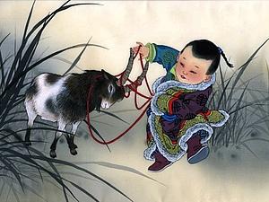 О лошадях, козах и ...  славянах! | Ярмарка Мастеров - ручная работа, handmade