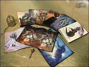 Мастер-класс: декупаж на обложке с использованием распечатки. Ярмарка Мастеров - ручная работа, handmade.