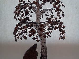 Берёзка из камней | Ярмарка Мастеров - ручная работа, handmade