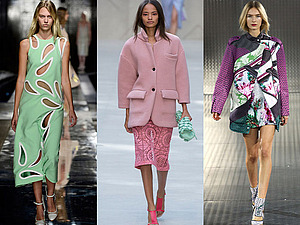 Лондонская неделя моды SS 2014. Новая женственность. | Ярмарка Мастеров - ручная работа, handmade