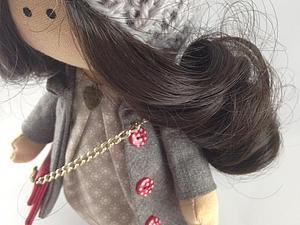 Мастер-класс по шитью куколки | Ярмарка Мастеров - ручная работа, handmade