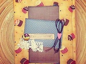 Аукцион на блокнот ручной работы !!! | Ярмарка Мастеров - ручная работа, handmade