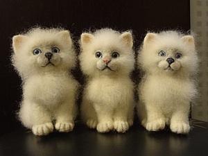 Мастер- класс по валянию котёнка(цена указана за два дня) | Ярмарка Мастеров - ручная работа, handmade