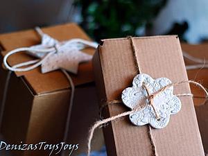 Изготовление бирки из полимерной глины для упаковки товаров и подарков. Декор для пасхальных букетов | Ярмарка Мастеров - ручная работа, handmade