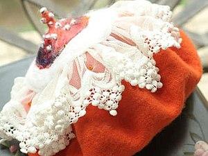 Идеи украшения беретов | Ярмарка Мастеров - ручная работа, handmade