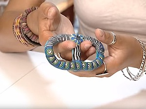 Видео мастер-класс: создание пряжки для ремня или платка. Ярмарка Мастеров - ручная работа, handmade.