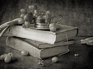 Черно-белое изображение. Ярмарка Мастеров - ручная работа, handmade.