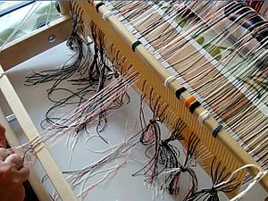 Подвязка основы к планке товарного валика   Ярмарка Мастеров - ручная работа, handmade