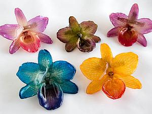 Украшения из живых цветов от дизайнеров Нью-Йоркского бренда Hanami | Ярмарка Мастеров - ручная работа, handmade