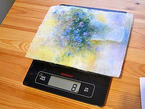 А вы знаете, сколько нужно шерсти для создания картины?. Ярмарка Мастеров - ручная работа, handmade.