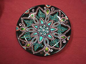 Картинки для точечной росписи тарелок 56