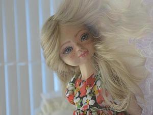 Подвижная и очень милая девочка Майя . | Ярмарка Мастеров - ручная работа, handmade