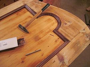 Реставрация старинного шкафа. Часть 4: восстановление элементов стенок шкафа. Ярмарка Мастеров - ручная работа, handmade.
