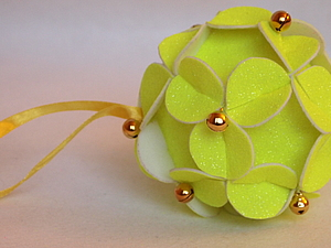 Из фетра: Новогодняя игрушка. Ярмарка Мастеров - ручная работа, handmade.