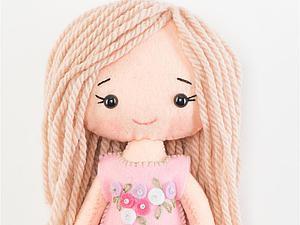 Шьем милую куколку своими руками: используем набор для пошива куклы. Ярмарка Мастеров - ручная работа, handmade.
