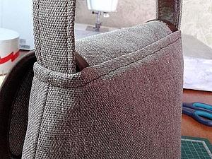 Изготовление плоской ручки для сумки. Ярмарка Мастеров - ручная работа, handmade.