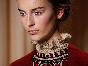 Вышивка в коллекции Valentino Couture весна-лето 2015. Ярмарка Мастеров - ручная работа, handmade.