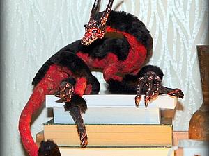 Драконо-зверь ищет дом. | Ярмарка Мастеров - ручная работа, handmade